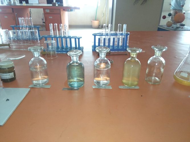 Testing Most Reactive and Least Reactive Metals (1)
