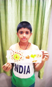 Finger Print Painting GR-4a (1)