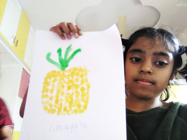 Finger Print Painting GR-4a (2)