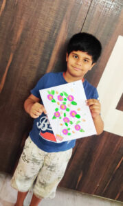 Finger Print Painting GR-4a (3)