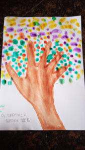 Finger Print Painting GR-4a (4)