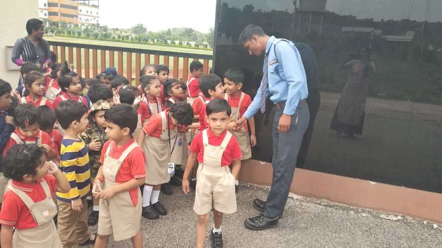Interaction with Security (3)